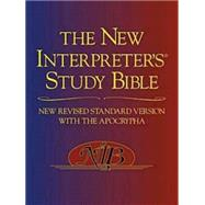 The New Interpreter's Study Bible: New Revised Standard Version With the Apocrypha by Harrelson, Walter J., 9780687278329