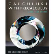 Calculus I with Precalculus by Larson, Ron, 9780840068330