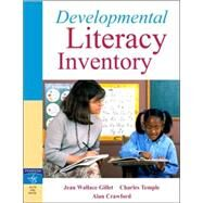Developmental Literacy Inventory by Temple, Charles A.; Crawford, Alan N.; Gillet, Jean Wallace, 9780205458332