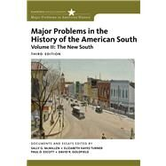 Major Problems in the History of the American South, Volume 2 by McMillen, Sally G.; Turner, Elizabeth Hayes; Escott, Paul; Goldfield, David, 9780547228334