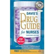 Davis's Drug Guide for Nurses (Book with CD-ROM   Access Code)