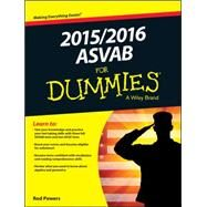 ASVAB 2015 / 2016 for Dummies by Powers, Rod, 9781119038337