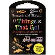 Things That Go Scratch & Sketch Kit by Peter Pauper Press, 9781441308337