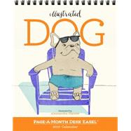 Dog Page-a-month Easel 2017 Calendar by Olanow, Alessandra, 9780761188339