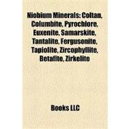 Niobium Minerals : Coltan, Columbite, Pyrochlore, Euxenite, Samarskite, Tantalite, Fergusonite, Tapiolite, Zircophyllite, Betafite, Zirkelite by , 9781155468341