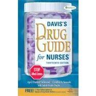 Davis's Drug Guide for Nurses (Book with Access Code) by Vallerand, April Hazard, Ph.D., R.N.; Sanoski, Cynthia A.; Deglin, Judith Hopfer, 9780803628342