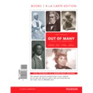 Out of Many A History of the American People, Volume 1, Books a la Carte Edition Plus REVEL -- Access Card Package by Faragher, John Mack; Buhle, Mari Jo; Czitrom, Daniel H.; Armitage, Susan H., 9780134138343