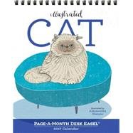 Cat Page-a-month Easel 2017 Calendar by Olanow, Alessandra, 9780761188346