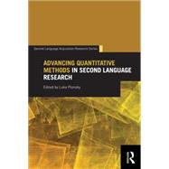 Advancing Quantitative Methods in Second Language Research by Plonsky; Luke, 9780415718349