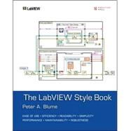 The Labview Style Book by Blume, Peter A., 9780131458352
