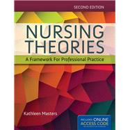 Nursing Theories: A Framework for Professional Practice by Masters, Kathleen, 9781284048353
