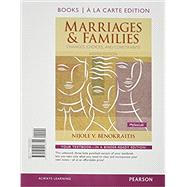 Marriages and Families, Books a la Carte Edition by Benokraitis, Nijole V., 9780205918355