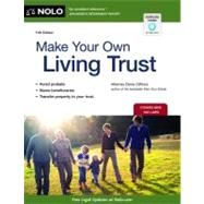 Make Your Own Living Trust by Clifford, Denis, 9781413318357