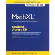 MathXL Standalone Access Card (6-month access) by Pearson Education, 9780321878359