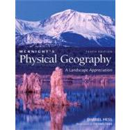 Mcknight's Physical Geography : A Landscape Appreciation Lab Manual by Hess, Darrel, 9780321678362