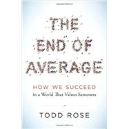 The End of Average by Rose, Todd, 9780062358363
