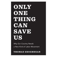 Only One Thing Can Save Us by Geoghegan, Thomas, 9781595588364