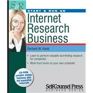Start and Run an Internet Research Business by Kautz, Gerhard W., 9781551808369