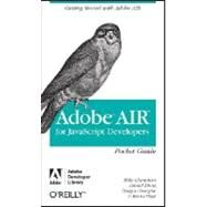 Adobe AIR for Javascript Developers by Chambers, Mike, 9780596518370