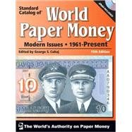 Standard Catalog of World Paper Money: Modern Issues, 1961-present by Cuhaj, George S., 9780896898370