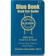 Kelley Blue Book Used Car Guide 2000-2014 Models by Kelley Blue Book, 9781936078370