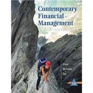 Contemporary Financial Management (with Thomson ONE - Business School Edition 6-Month Printed Access Card) by Moyer, R. Charles; McGuigan, James R.; Rao, Ramesh P., 9781305098374