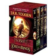 J. R. R. Tolkien 4-Book Boxed Set: the Hobbit and the Lord of the Rings (Movie Tie-In) : The Hobbit, the Fellowship of the Ring, the Two Towers, the Return of the King by Tolkien, J. R. R., 9780345538376