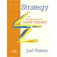 STRATEGY 3E  CL by WATSON,JOEL, 9780393918380