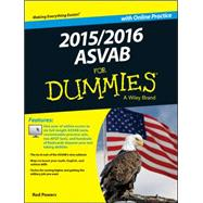 ASVAB 2015/2016 for Dummies with Online Practice by Powers, Rod, 9781119038382