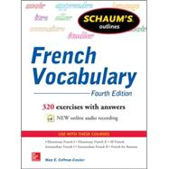 Schaum's Outline of French Vocabulary by Crocker, Mary, 9780071828383