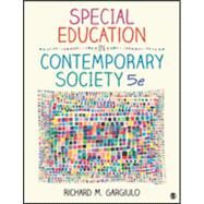 Special Education in Contemporary Society + Interactive Ebook by Gargiulo, Richard M., 9781483358383
