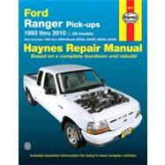 Ford Ranger & Mazda B-Series Pick-Ups Automotive Repair Manual: Models Covered: All Ford Ranger Models - 1993 through 2010 All Mazda B2300, B2500, B3000 and B4000 pick-ups - pick-ups - 1994 through 2009 by Jorgensen, Eric, 9781563928383