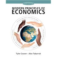 Modern Principles of Economics by Cowen, Tyler; Tabarrok, Alex, 9781429278393