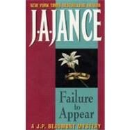 Failure To Appear by Jance J.A., 9780380758395