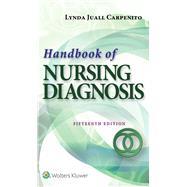 Handbook of Nursing Diagnosis by Carpenito, Lynda Juall, 9781496338396
