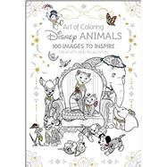 Art of Coloring: Disney Animals by Disney Book Group, 9781484758397