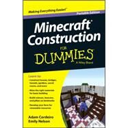 Minecraft Construction for Dummies by Cordeiro, Adam; Nelson, Emily, 9781118968406