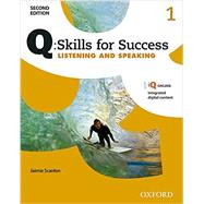 Q: Skills for Success 2E Listening and Speaking Level 1 Student Book by Scanlon, Jaimie, 9780194818407