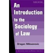 Introduction to the Sociology of Law by Milovanovic, Dragan, 9781881798408