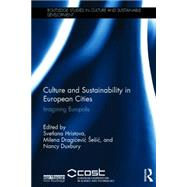 Culture and Sustainability in European Cities: Imagining Europolis by Hristova; Svetlana, 9781138778412