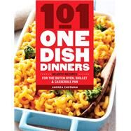 101 One-dish Dinners by Chesman, Andrea, 9781612128412