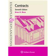 Examples & Explanations for Contracts by Blum, Brian A., 9781454868415