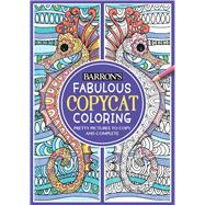 Fabulous Copycat Coloring by Moret, Sally, 9781438008417