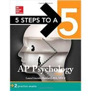 5 Steps to a 5 AP Psychology 2017 by Maitland, Laura Lincoln, 9781259588419