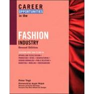 Career Opportunities in the Fashion Industry by Vogt, Peter, 9780816068425
