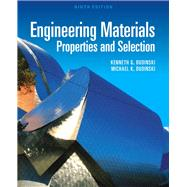 Engineering Materials Properties and Selection by Budinski, Kenneth G.; Budinski, Michael K., 9780137128426