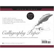 Studio Series Calligraphy Paper Pad by Peter Pauper Press, 9781441308429