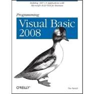Programming Visual Basic 2008 by Patrick, Tim, 9780596518431