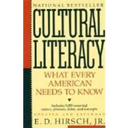 Cultural Literacy by HIRSCH, E.D. JR, 9780394758435