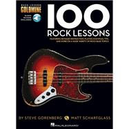 100 Rock Lessons by Hal Leonard Publishing Corporation, 9781480398436